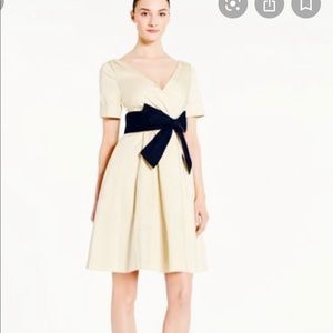 Kate Spade tan and black dress